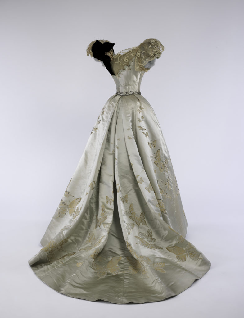 Jean-Philippe Worth for House of Worth ball gown, 1898