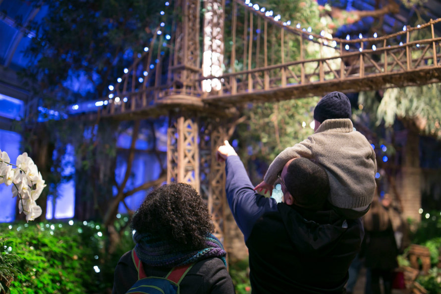 All Aboard The Feel Good Express At The New York Botanical Train Show