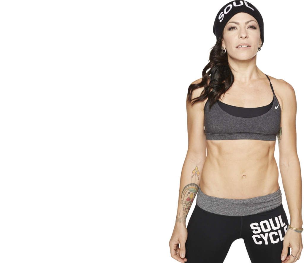 """Kym """"NonStop"""" Perfetto (Image courtesy of SoulCycle)"""