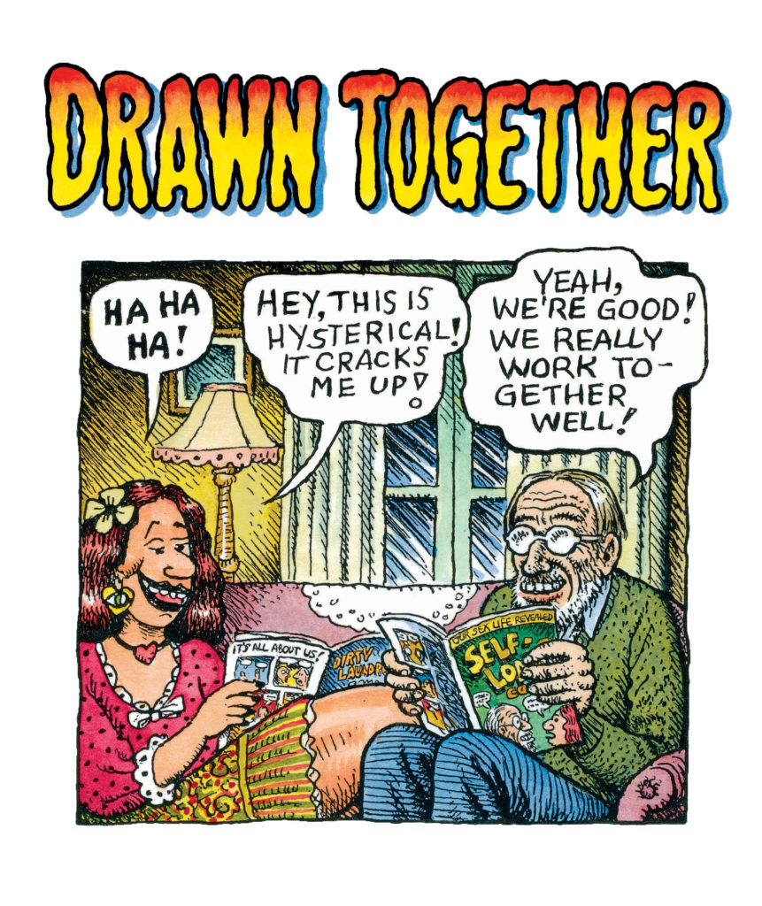 aline-kominsky-crumb-robert-crumb_drawn-together