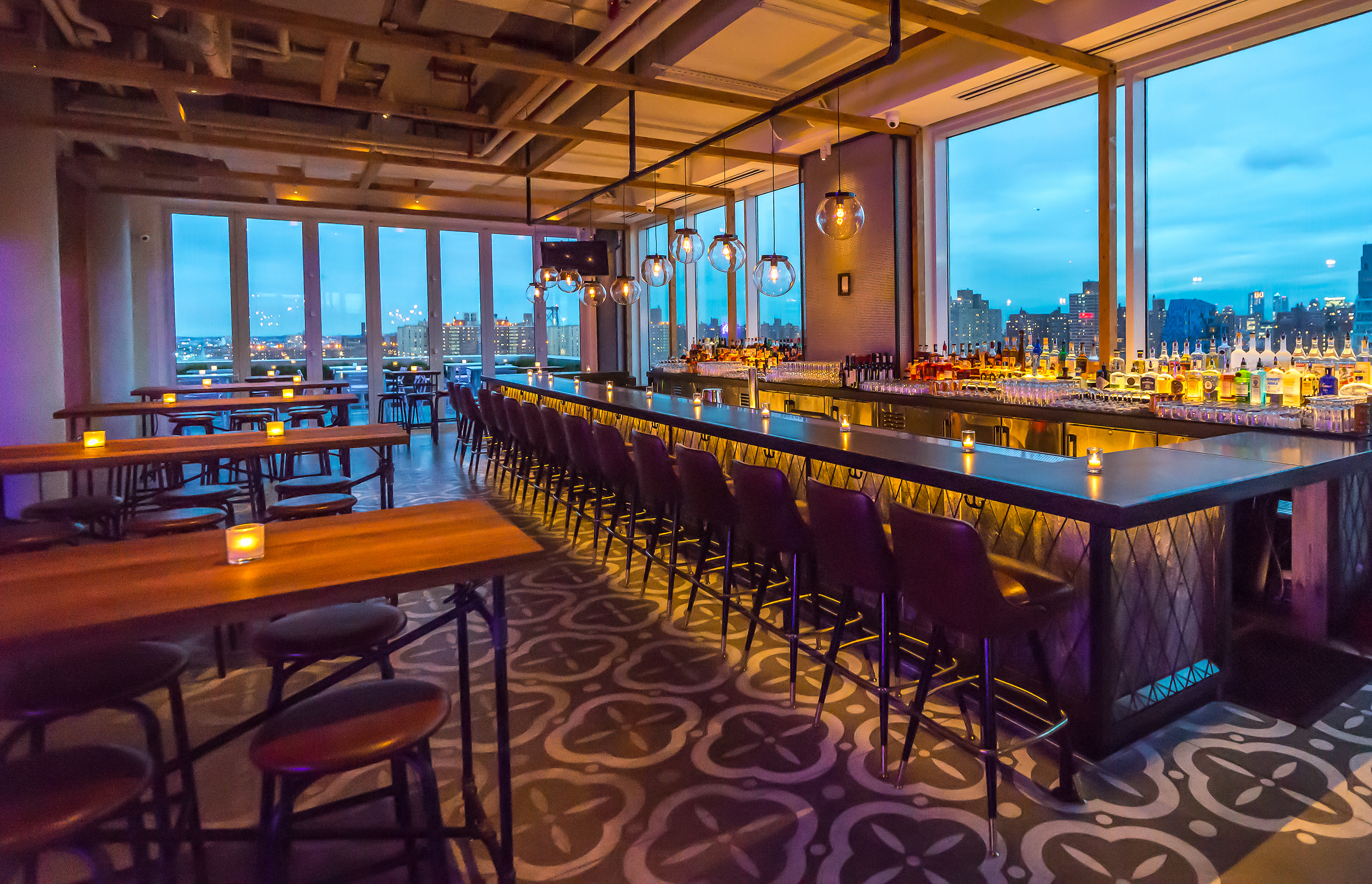 The Best Restaurants And Bars In New York To Watch Super