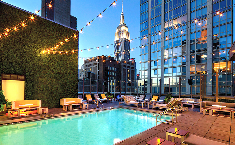 Dive into the hottest and best rooftop pools in nyc - New york hotels with rooftop swimming pools ...