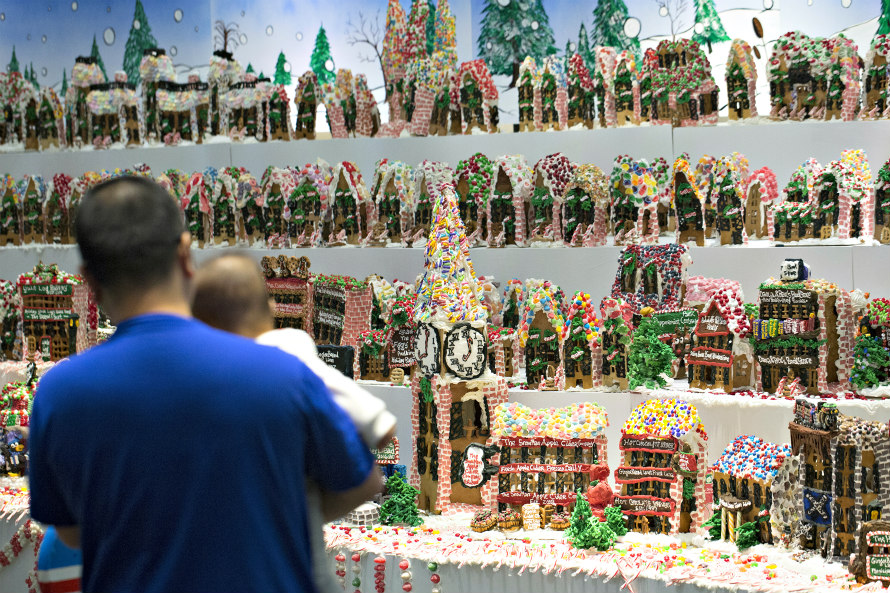 Gingerbread Lane Holiday Photos