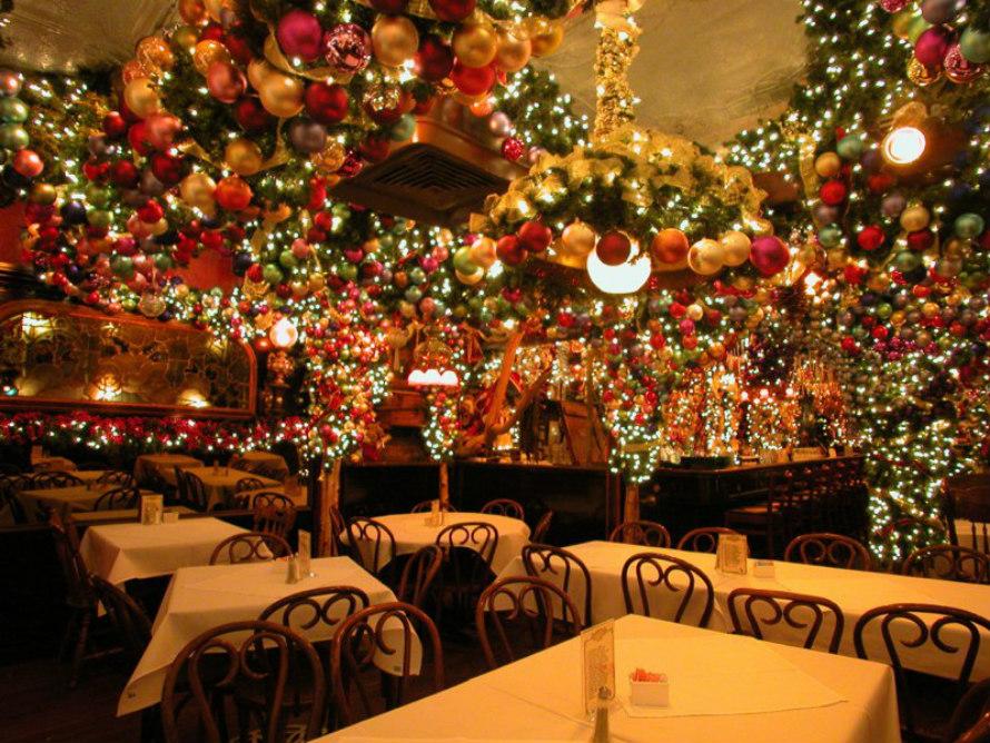 festive restaurants nyc