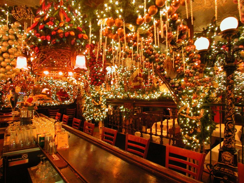 festive holiday eating in nyc what should we do