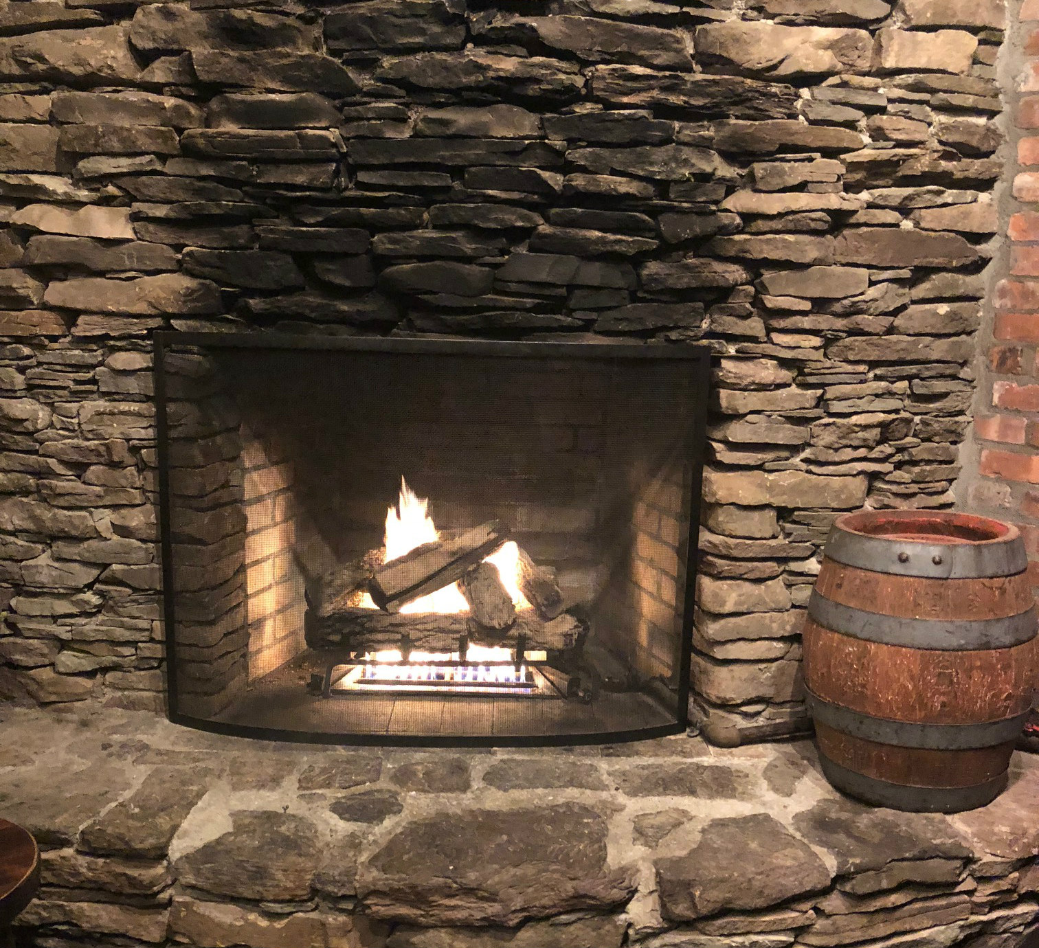 drinks by the fireside best bars with fireplaces in nyc