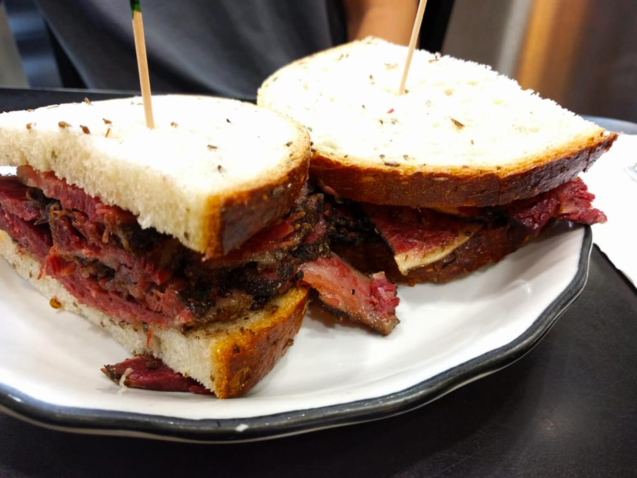 Pastrami Sandwich Eats jewish restaurants