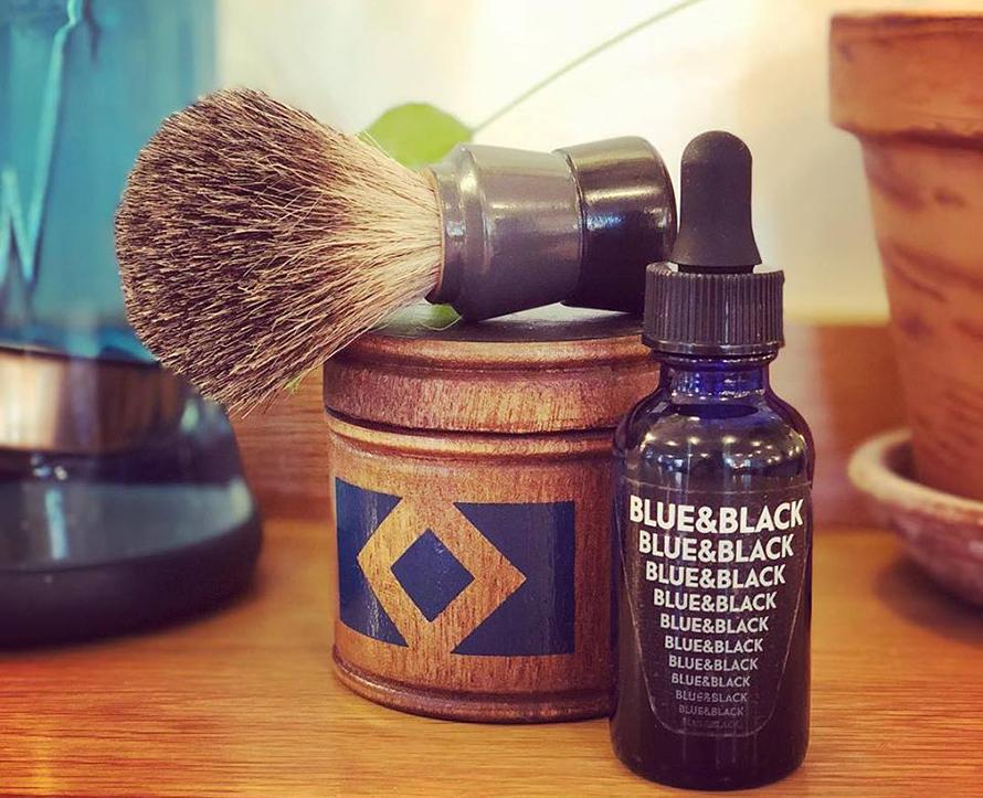 Blue & Black Barbers Walt Whitman