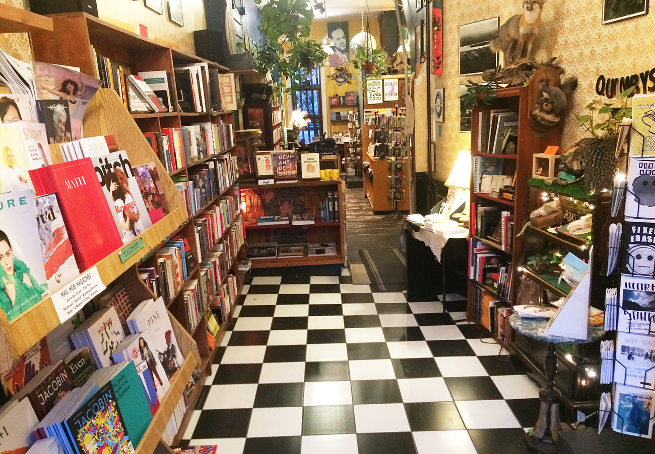 independent bookstores nyc