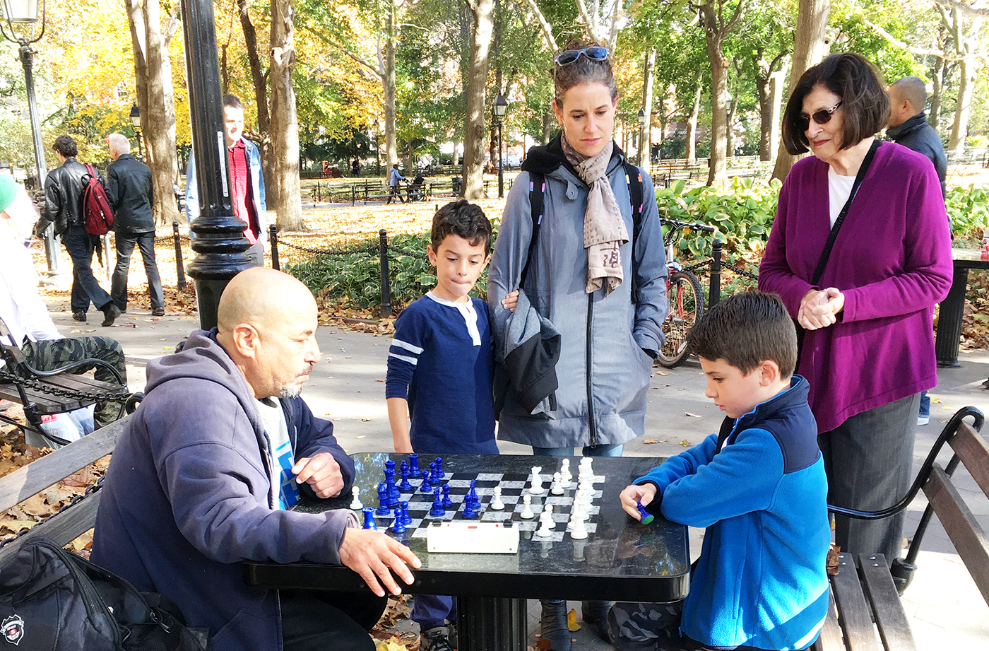 A Day of Chess in NYC's West Village: Where to Go and What to Do