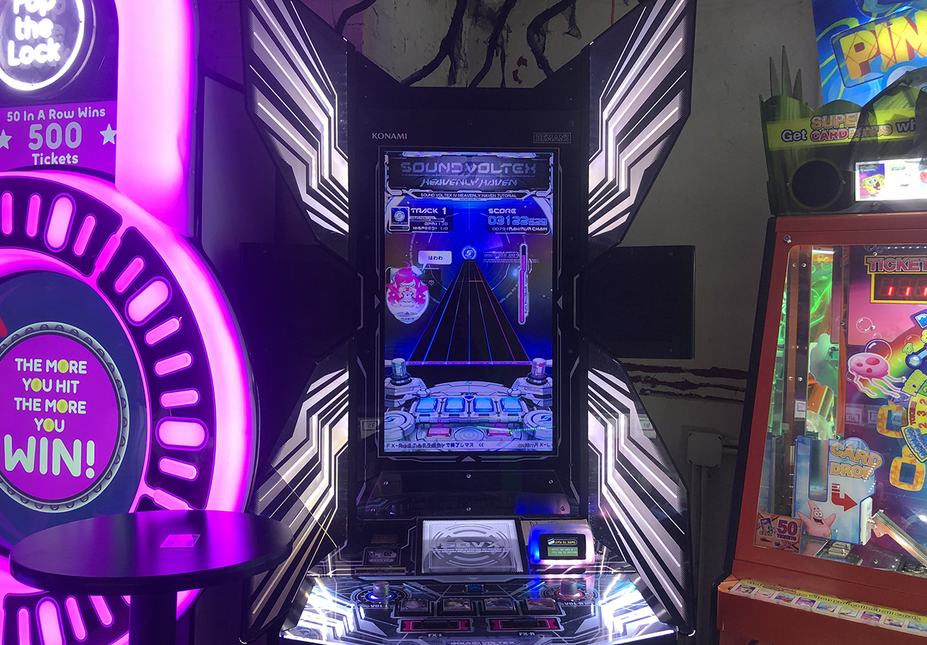 The Strange Thrill of Playing Sound Voltex at Chinatown Fair