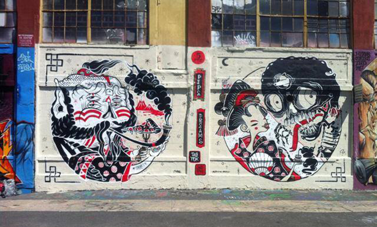 Yok Shero Graffiti Street Art