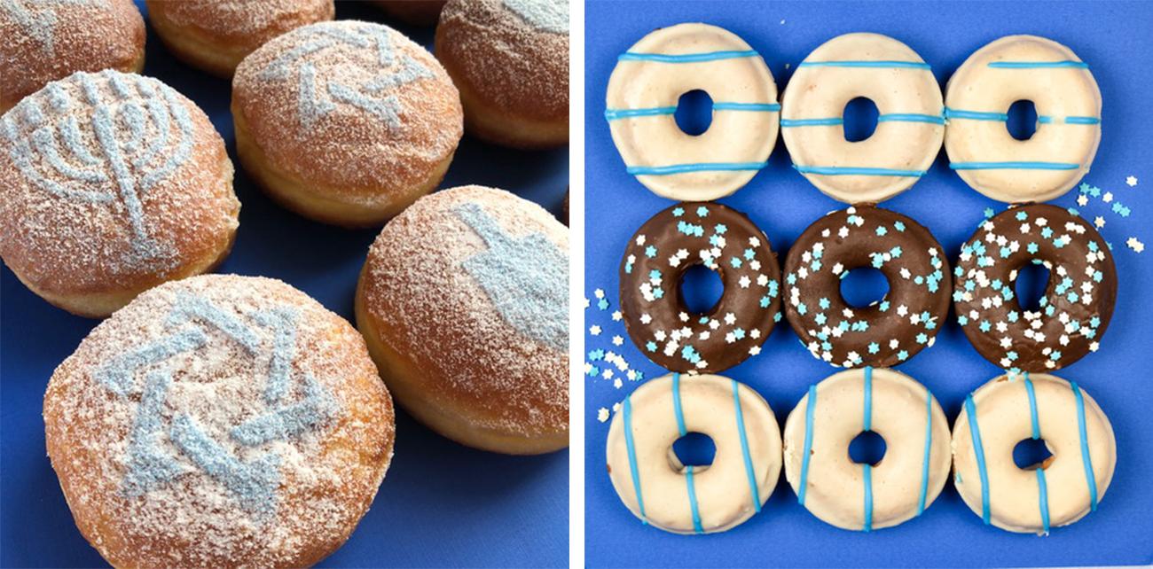 Doughnuts Eat hanukkah gifts
