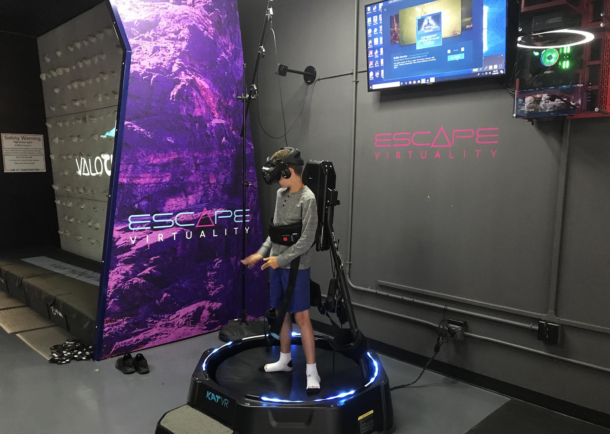escape virtuality virtual reality arcades