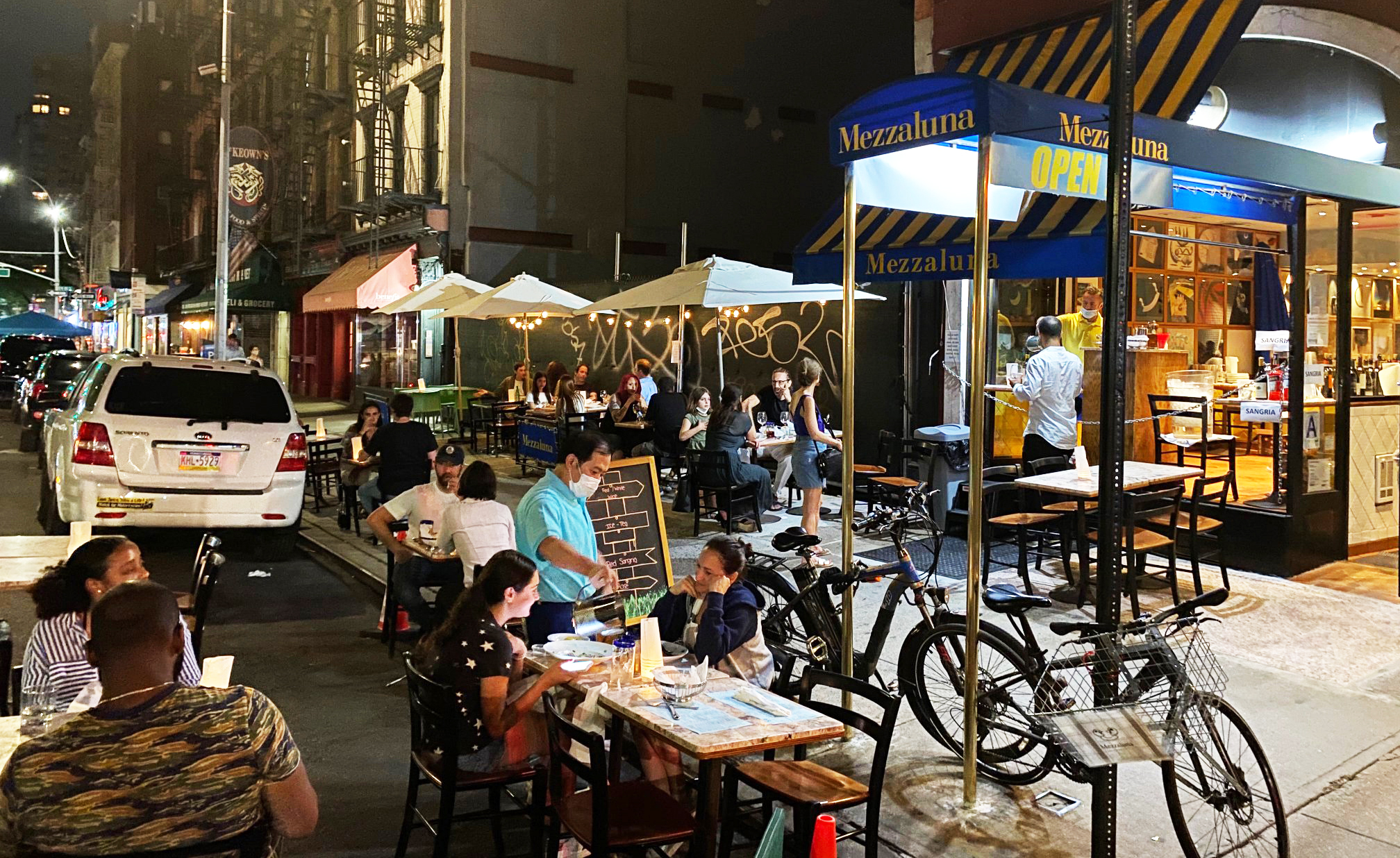 outdoor dining manhattan
