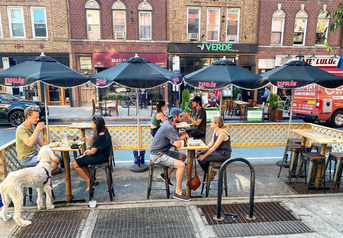 outdoor dining brooklyn